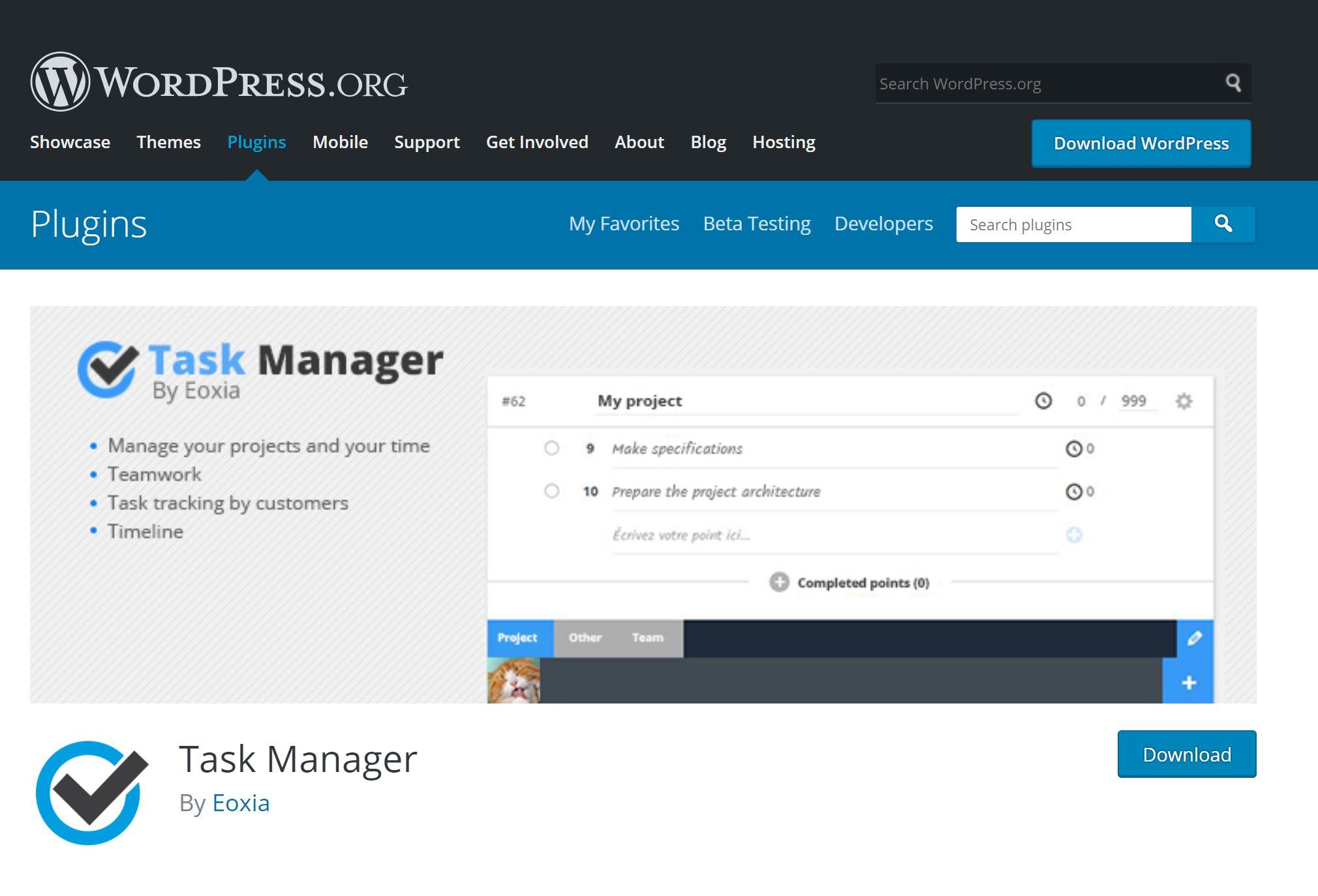 taskmanager-wp
