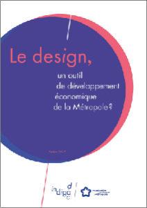 """couverture de l'ouvrage """"Le design, un outil de développement économique de la Métropole ?"""""""