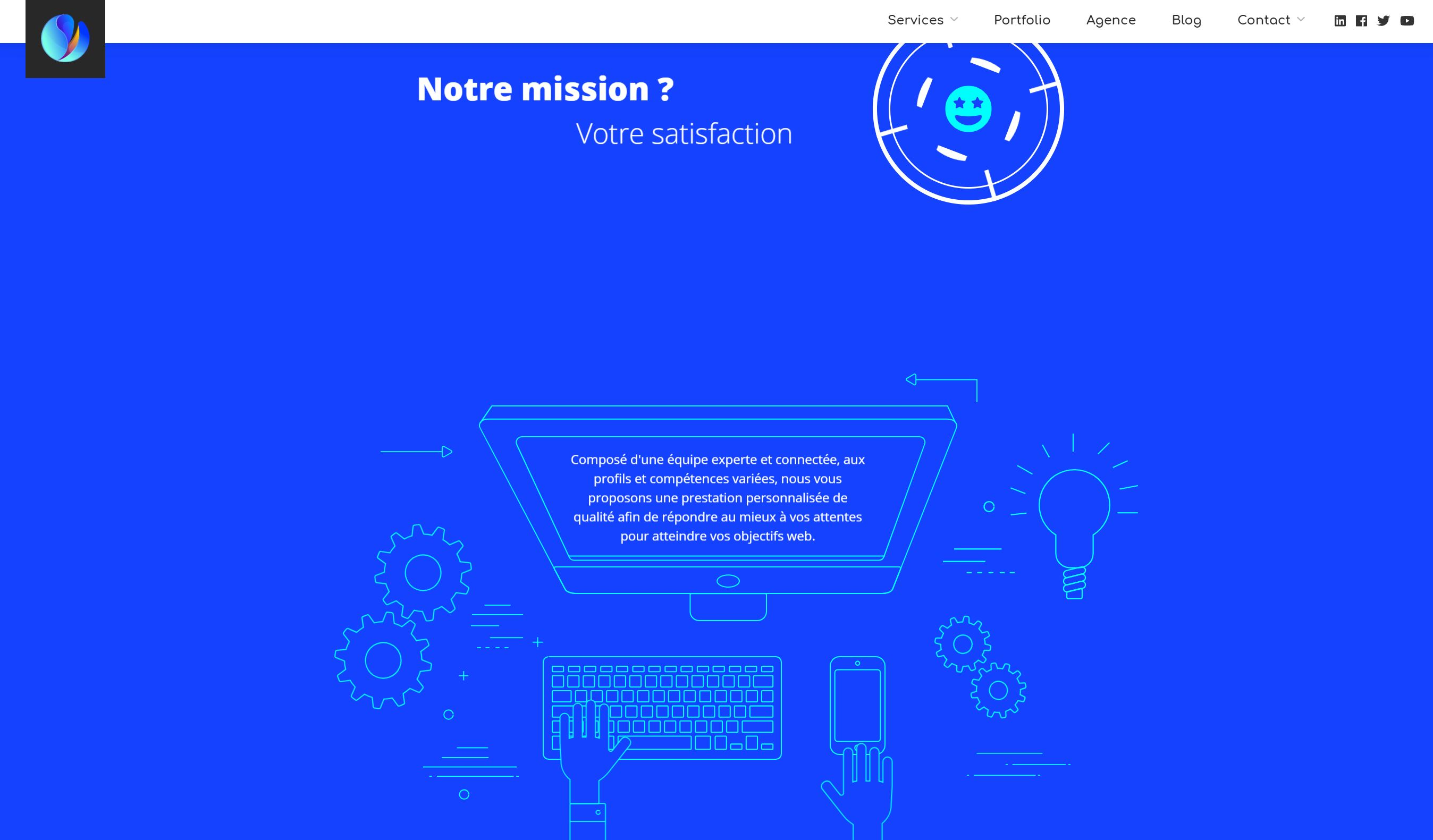 site-web-agence-wordpress-home-page